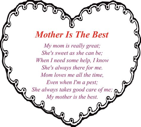 mothers day poems for preschoolers 30 touching mothers day poems from 742
