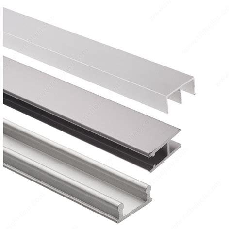 glass display cabinet hardware track set for display glass sliding doors richelieu hardware