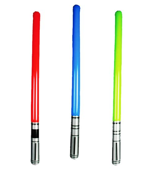 sabre laser gonflable star wars le sabre des petits jedi
