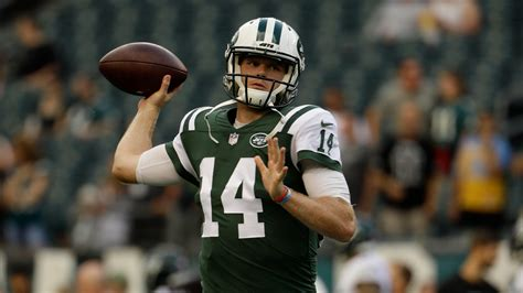 sam darnold named starter   york jets opener