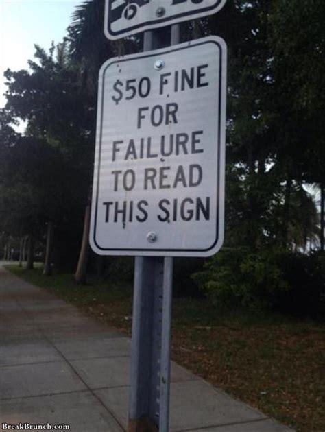 funny signs    pics breakbrunch