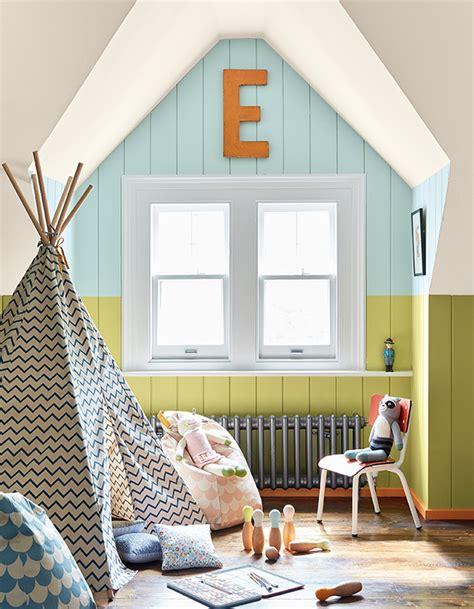 repeindre une chambre en 2 couleurs peindre un mur de plusieurs couleurs pour apporter
