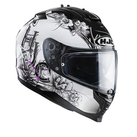 ladies motorcycle helmet hjc is 17 barbwire full face acu gold ladies motorbike