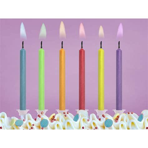 Candele Di Compleanno Particolari by Candeline Compleanno Con Fiamma Colorata Per Festa Di