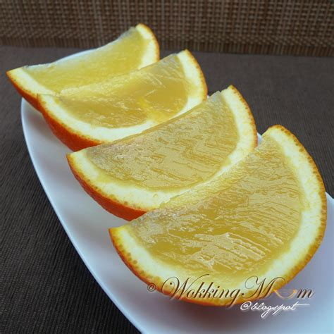 agar agar cuisine let 39 s get wokking orange slices agar agar 柳丁菜燕