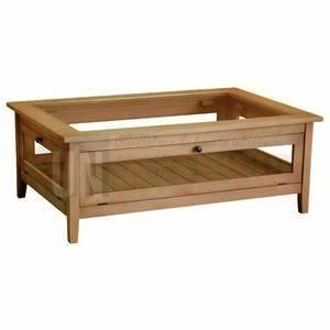 Table Basse Pin Massif : table basse collectionneur rectangulaire en pin massif ~ Teatrodelosmanantiales.com Idées de Décoration