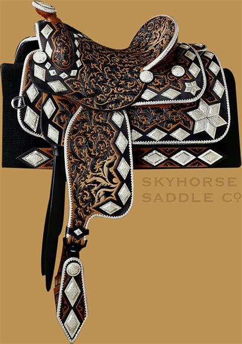 global horse culture beautiful saddles