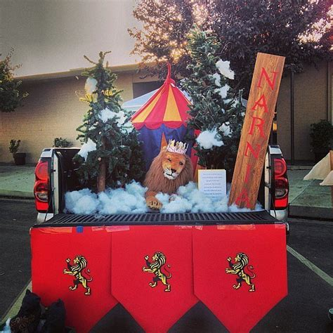 lds living  trunk  treat decorating ideas