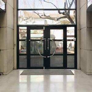 portes d39entree vitrees avec dormant en aluminium soude With portes d entrée en aluminium