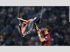 Serbia, Albania game abandoned after drone sparks brawl