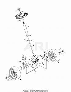 Mtd 13b326jc758  2015  Parts Diagram For Front End Steering