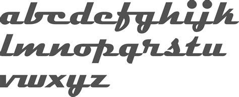 myfonts streamlined retro typefaces