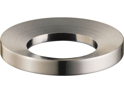 is a mounting ring necessary for vessel sink mounting ring satin nickel