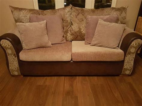 floral sofas for sale price reduction on 3 2 cream floral fabric sofa perfect