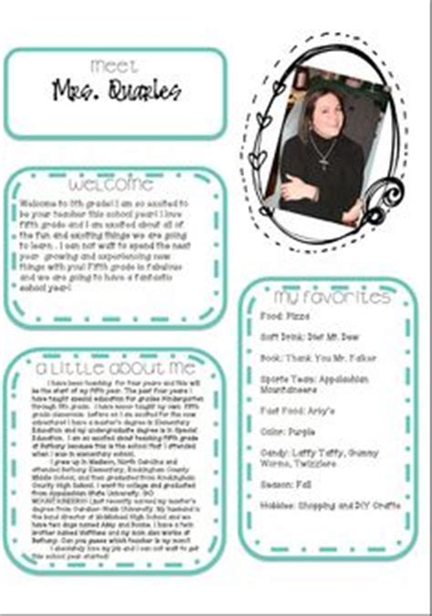 free meet the template 1000 images about meet the on meet the parent conferences