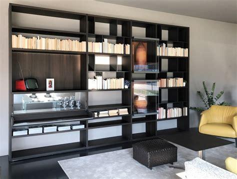 sales poliform wall system bookcase
