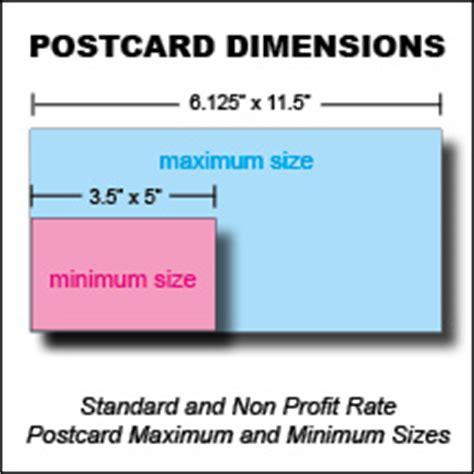 Postcard Sizes  Direct Mail Postcard Sizes Postcard