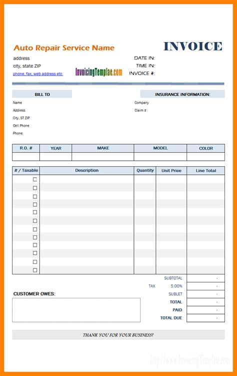 mobile phone bill format  excel sample travel bill