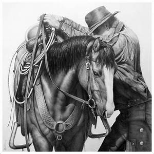 Western Art by Annette Randall; Horses and Ranch Life In ...