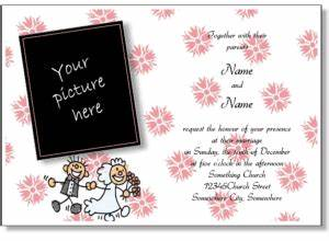 make your own invitations online free template best With screen print your own wedding invitations