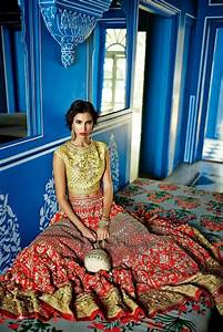 dongre festive 2014 indian bridal fashion collection