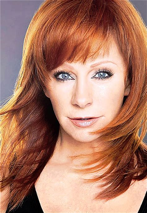 Beautiful Red Hair Reba McEntire Hairstyles Ideas uploaded