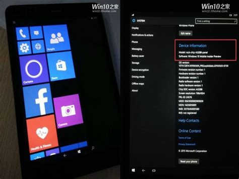 Windows Mobile Tablet by Windows 10 Mobile Shown Running On 10 Inch Arm Tablet