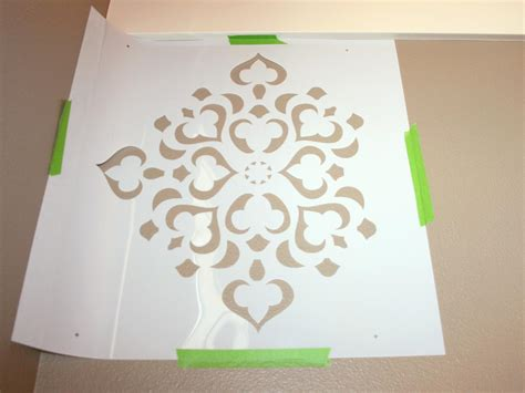 stencil templates for painting how to stencil a focal wall hgtv