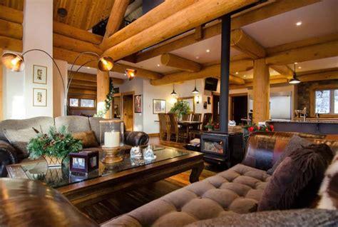 ways  accent  log cabin