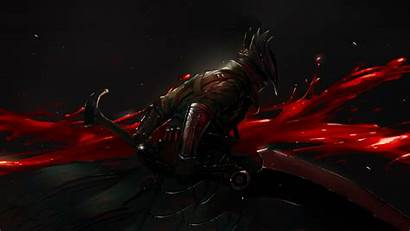 Bloodborne 4k Sword Knight Blood Dark Wallpapers