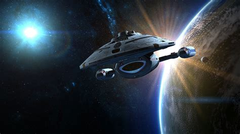 Star Trek Discovery Wallpaper Star Trek Futuristic Action Adventure Sci Fi Space Thriller Mystery Spaceship Wallpaper