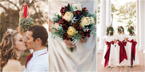 16 Christmas Wedding Ideas You Can't Miss