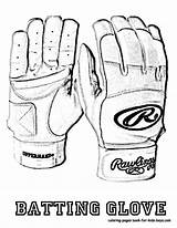 Baseball Coloring Glove Batting Template Sheet Yescoloring Shoes Mlb Players Fired Boys Templates sketch template