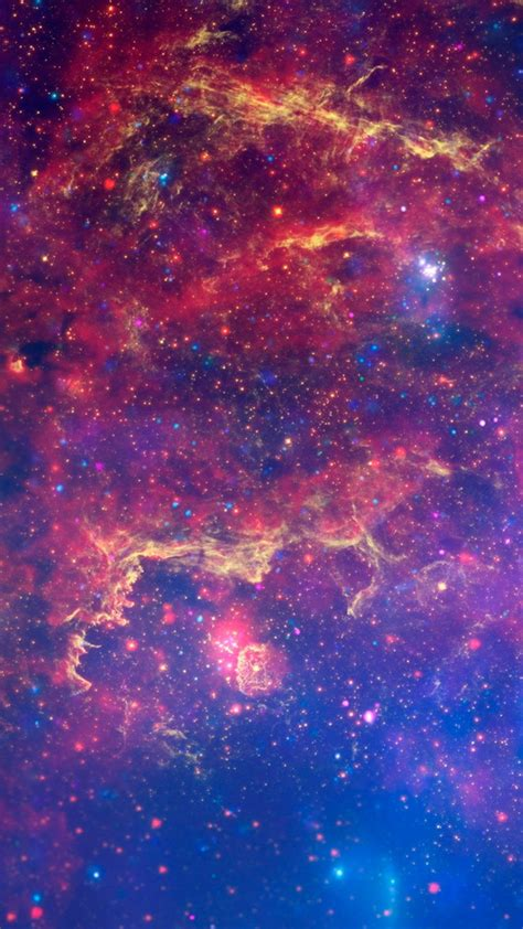 Cosmos Galaxy Wallpaper for iPhone X, 8, 7, 6 - Free