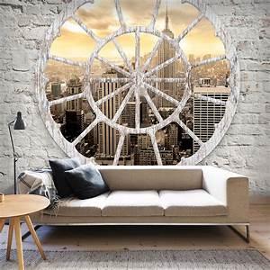 VLIES FOTOTAPETE New York Fenster TAPETE TAPETEN Schlafzimmer WANDBILD 3 Sorte eBay