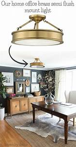Light Und Living : best flush mount ceiling lighting my 10 faves from inexpensive to high end ceiling fan ~ Eleganceandgraceweddings.com Haus und Dekorationen