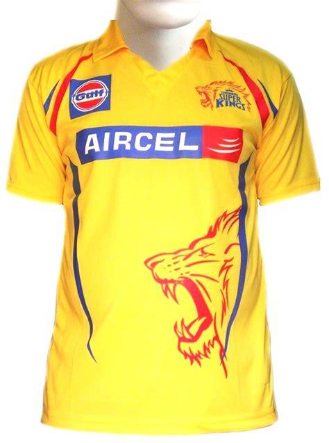 chennai super kings  ipl jerseys   shirts
