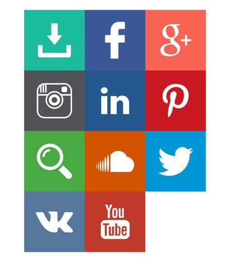 gallery frame set white free gif social media icons on behance