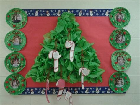paper christmas tree bulletin board pin by desilvio on