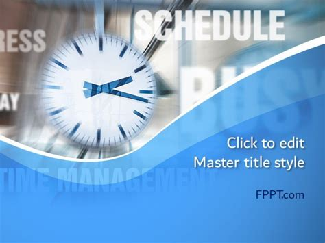 time concept powerpoint template  powerpoint