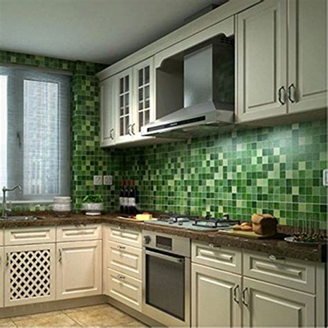 chinatera peel  stick tile kitchen backsplash sticker