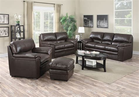 Mitchell Leather Living Room Set With Free Nationwide Delivery
