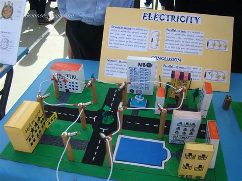Electricity Science Fair Models Pictures To Pin On