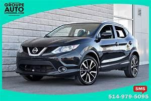 Nissan Qashqai Noir : 2017 nissan qashqai sl platine cuir toit navigation noir awd d 39 occasion longueuil ~ Medecine-chirurgie-esthetiques.com Avis de Voitures