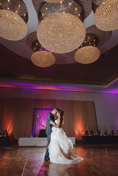 luxe purple wedding  chicago artfully wed wedding blog