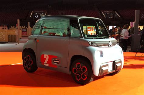 citroen reveals renault twizy rivalling ami quadricycle