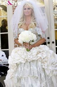 Real housewife of atlanta kim zolciak39s first wedding for Kim zolciak wedding dress