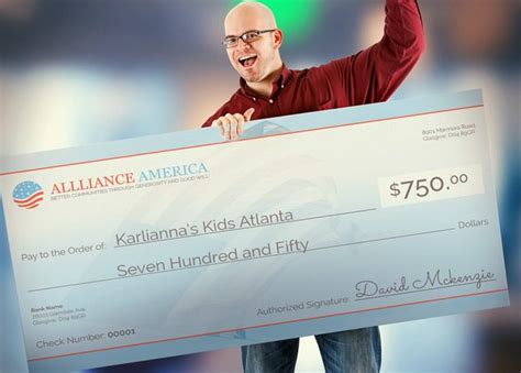 approach big check template  great   charity