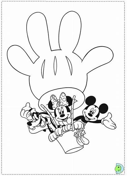 Mickey Mouse Clubhouse Coloring Printable