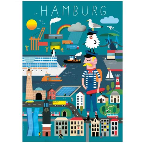 Human Empire Poster by Human Empire Hamburg Erkl 228 Rbuch Poster 50x70cm Selekkt